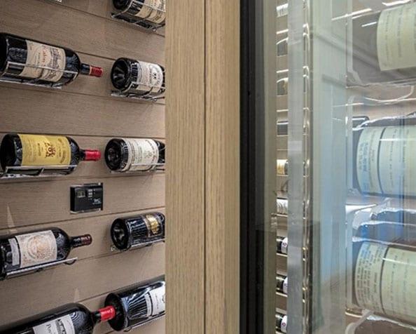 outstanding wine cellar design