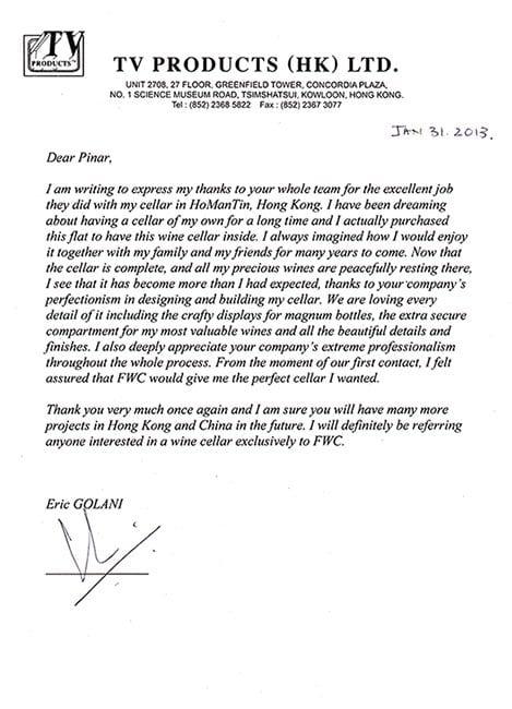 Eric Golani - Private Testimonial