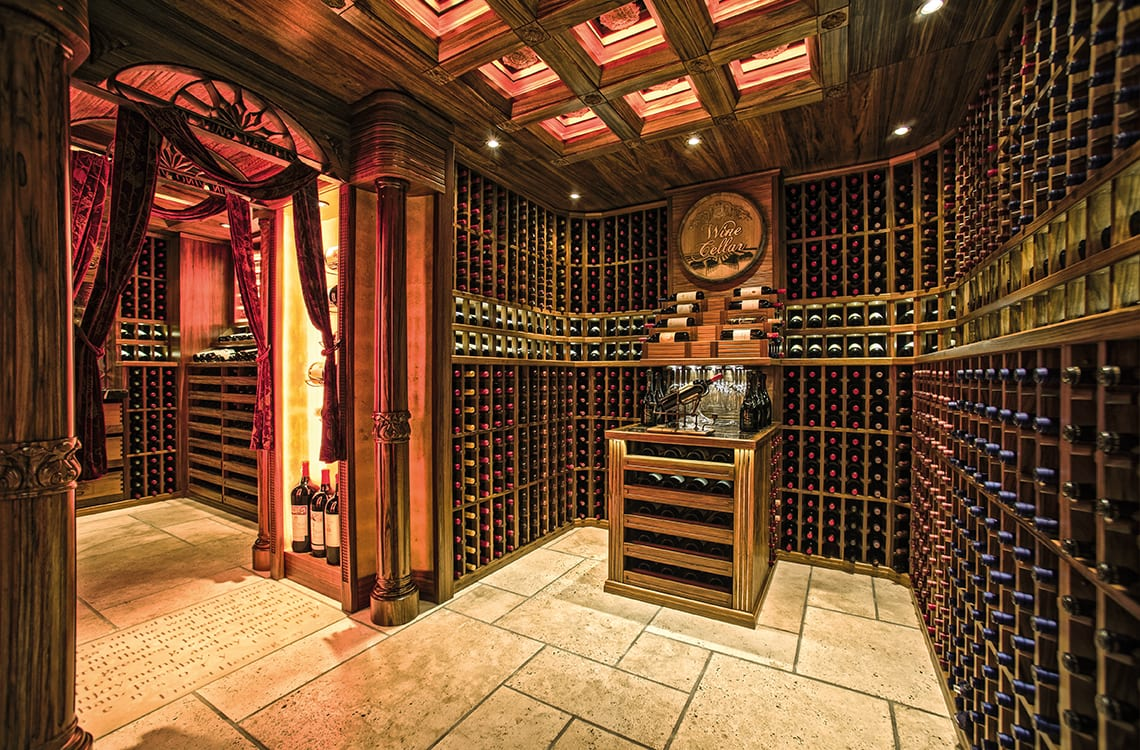 Private Wine Cellar in HoMan Tin Hill, Hong Kong