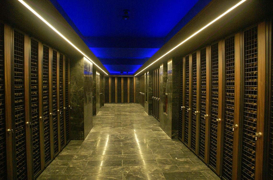 Trump Towers' Collective Wine Cellar