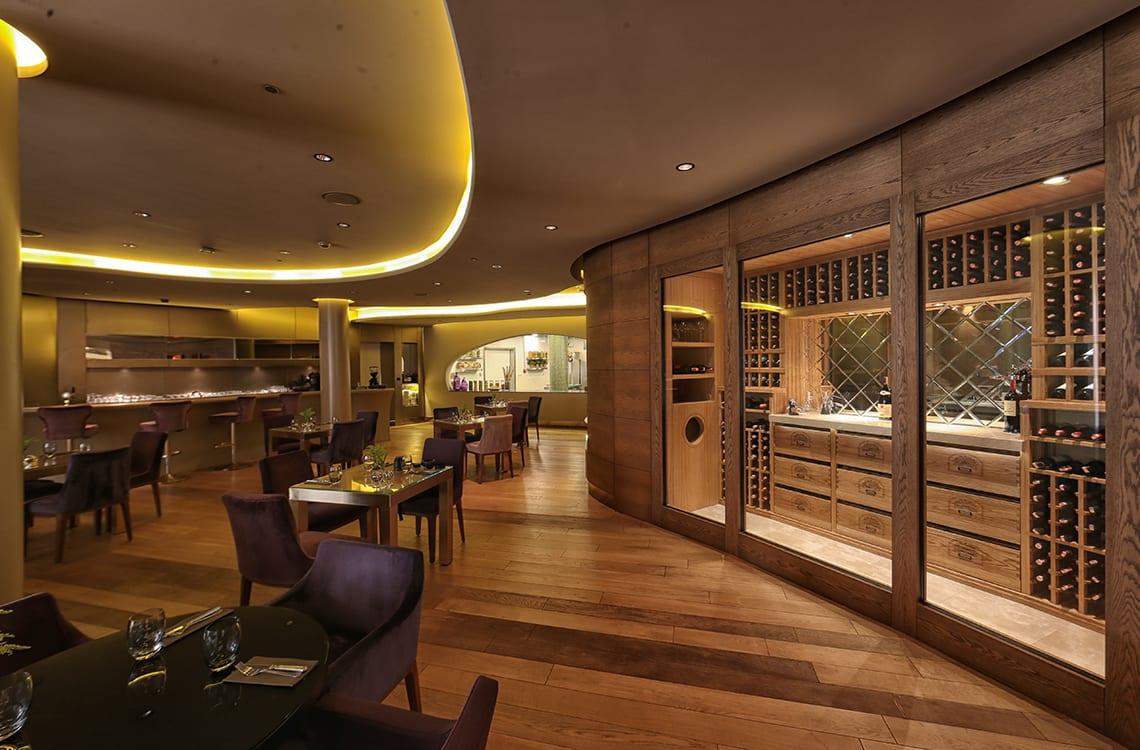 Traditional Wine Cellar in Intercontinental Hotel