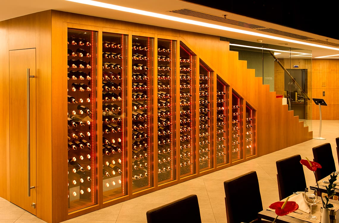 Small Wine Cellar under the Stairs