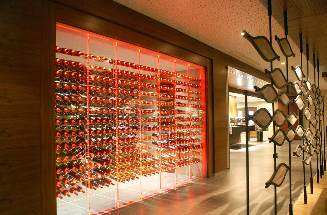 Restaurant Wine Cellar in Sheraton Hotel