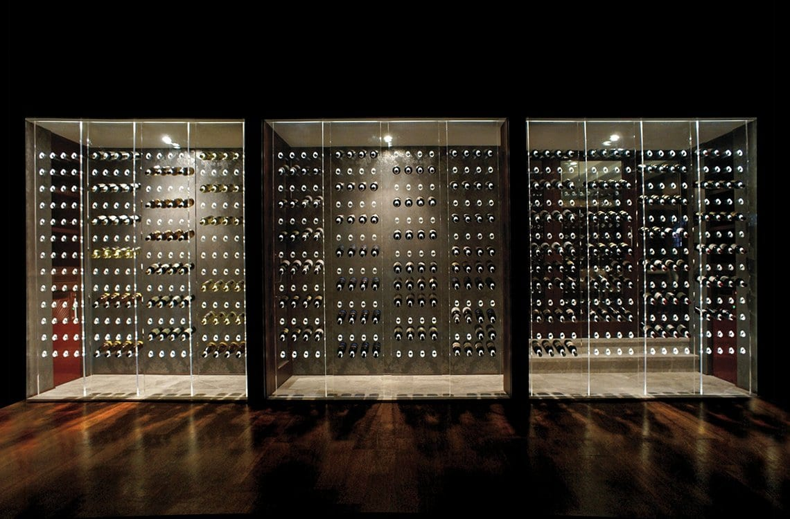 Dual Temperature Wine Cellar in Sheraton Hotel
