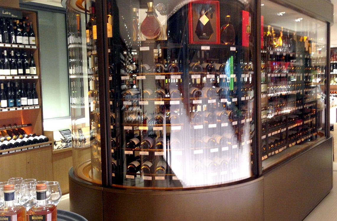 Wine Cellar in Printemps Hausmann, Paris