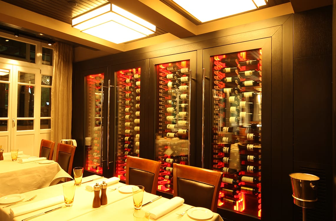 Wine Cabinet in Park Hyatt Hotel