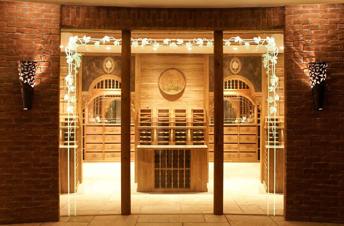 Presidential Wine Cellar