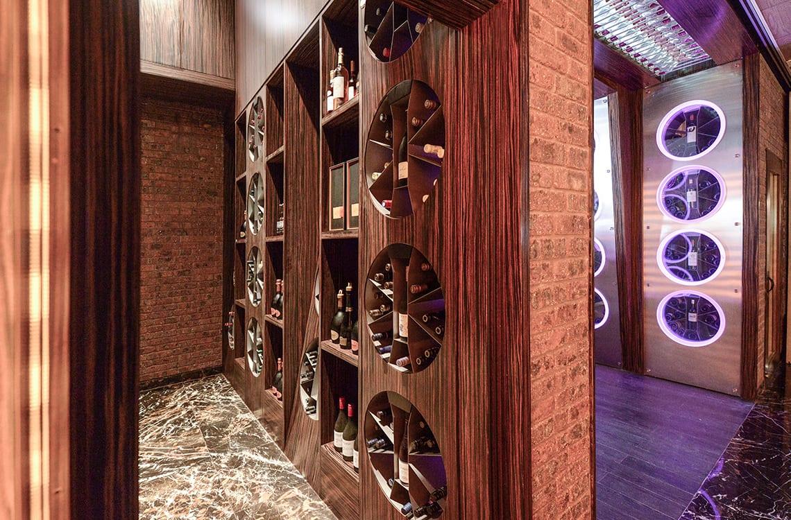 Wine Cellar in Conrad Hotel