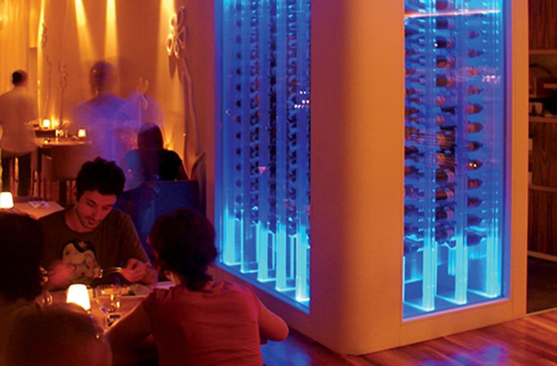 Small Restaurant Wine Cellar