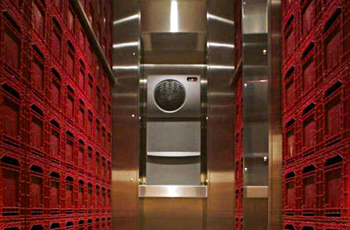 Commercial Wine Storage