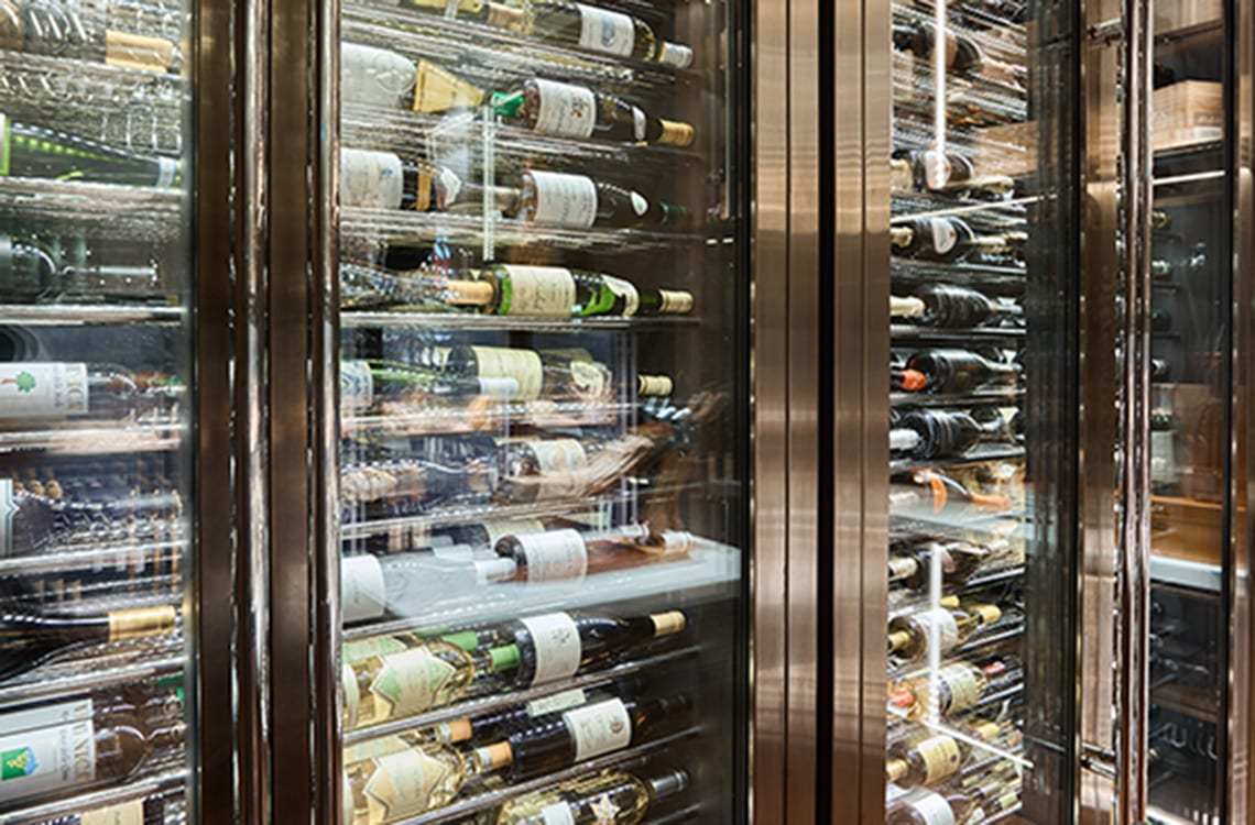 Wine Cabinet in Galaxy Macau Ritz Carlton Hotel