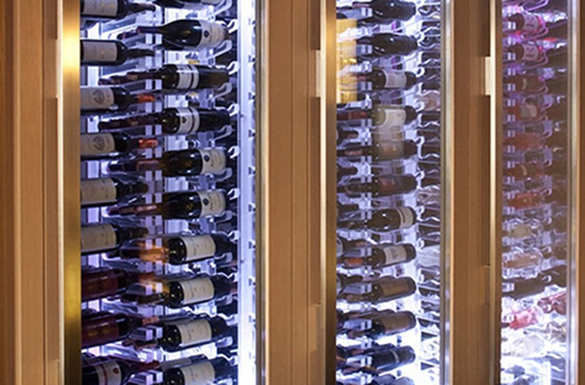 Wine Cabinet in Key Hotel