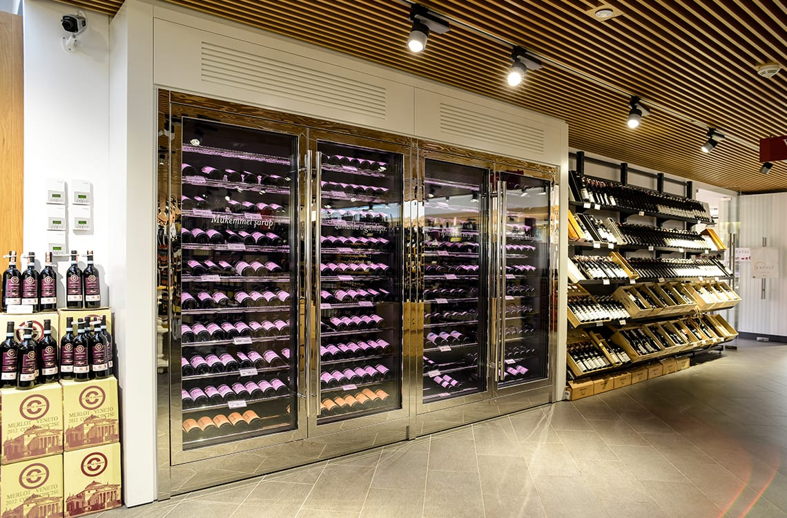 Wine Cabinet in Eataly