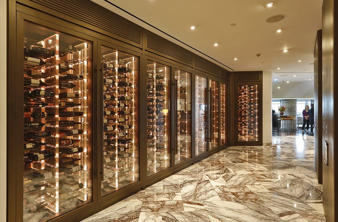 Wine Cabinet in St.Regis Hotel