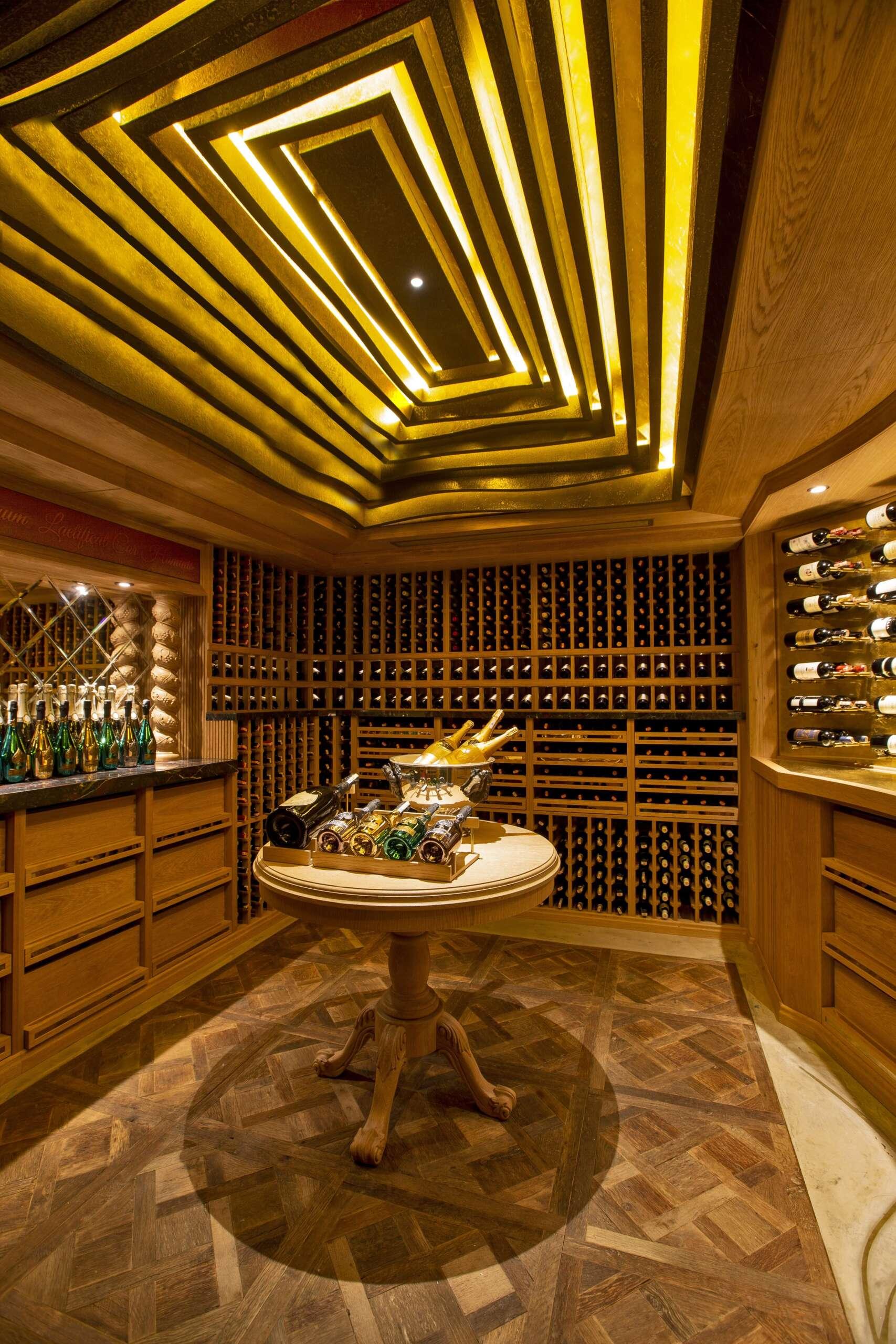 Traditional Private Wine Cellar